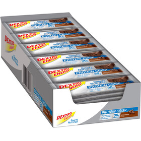 Dextro Energy Potein Crisp Riegel Box Chocolate 24 x 50g